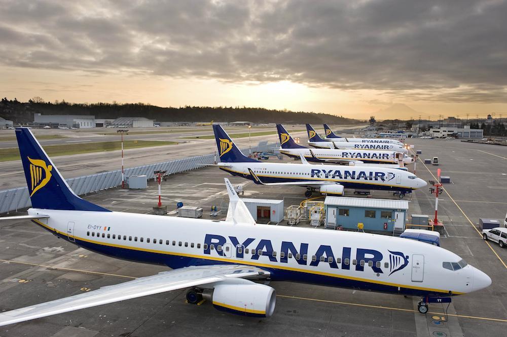 Ryanair aviones