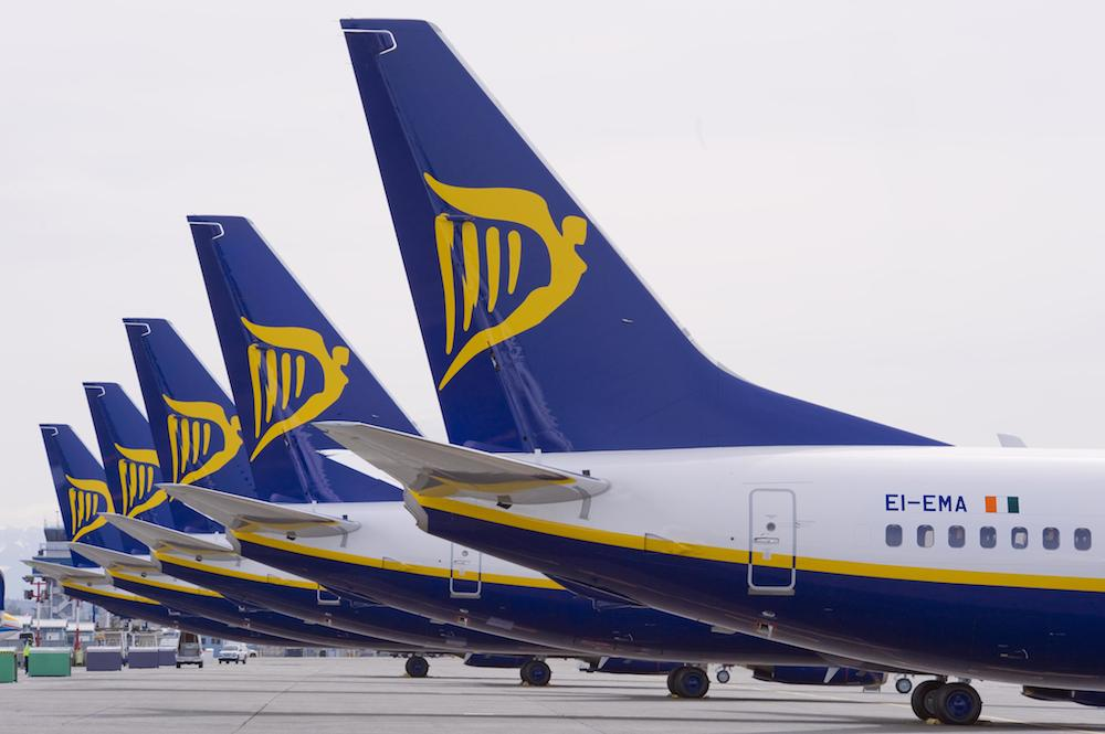 Ryanair colas