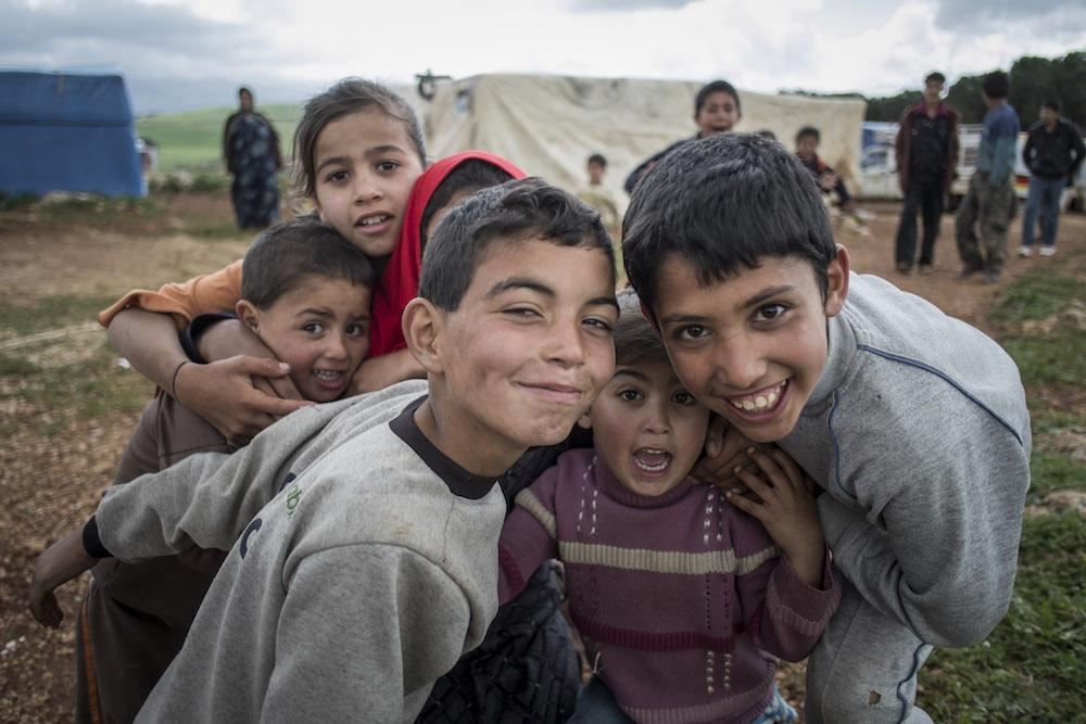 Marjayoun 10/4/2013 AVSI visita campo profughi siriani