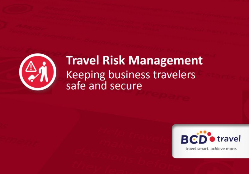 Travel Risk Management