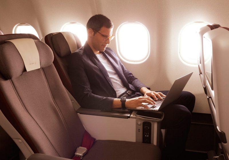 Las clases Premium se hacen hueco entre la Business y la Turista