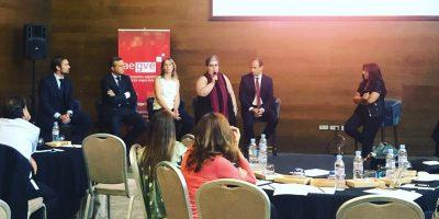 AEGVE organiza la primera mesa de debate en la que AMEX, BCDTRAVEL, CARLSON, NAUTALIA y EL CORTE INGLÉS se sientan para hablar de tecnología