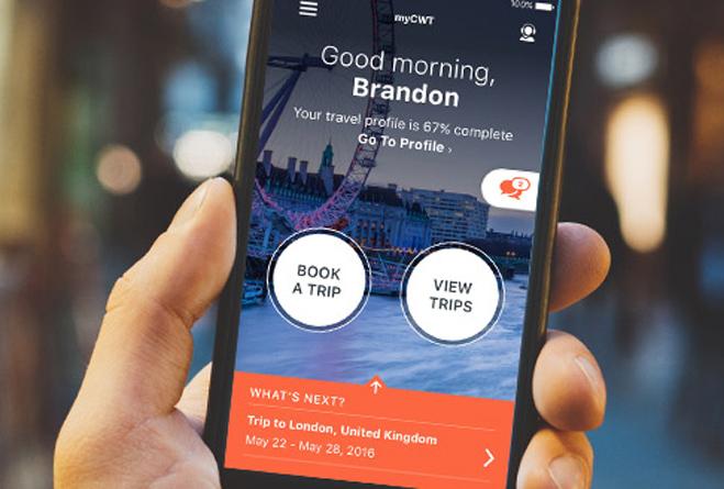 Una app sencilla y útil para viajeros de negocios y sus gestores de viajes