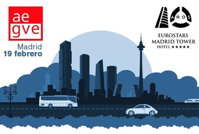 """AEGVE organiza la primera jornada formativa de 2019 con el título """"GROUND ¿ Te apuntas al futuro del transporte terrestre y la movilidad en las ciudades ? """""""