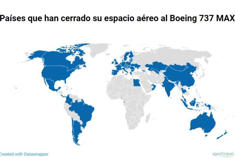 Se agudiza la crisis de Boeing tras el cierre del espacio aéreo de EE UU y Canadá al 737 MAX