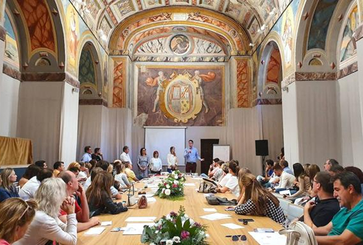 Úbeda y Baeza acogieron la convención de la Asociación de Gestores de Viajes de Empresa