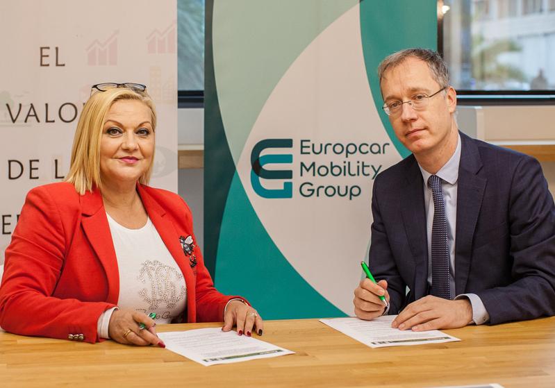 Europcar y Lasercart firman un acuerdo para la integración laboral de personas con discapacidad