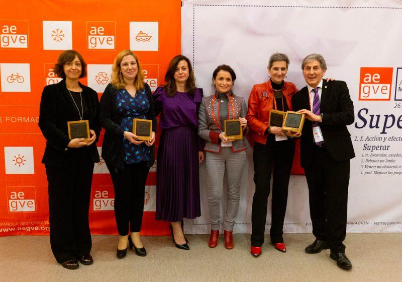 AEGVE entrega sus premios a las buenas prácticas en la gestión del viaje de empresa
