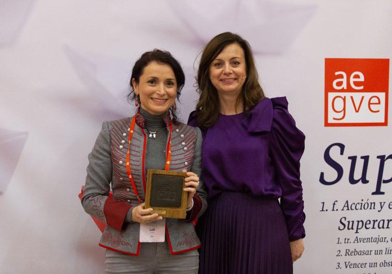 Loli Linero, Meet and Travel Leader de Ikea fue premiada en la Gala de premios AEGVE 2019