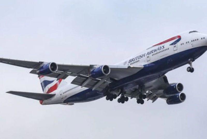 La tormenta Ciara ayuda a un avión de British Airways a batir un récord de velocidad en un vuelo transatlántico