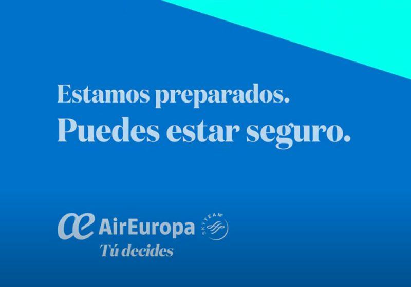 Compromiso de Air Europa con la seguridad de sus pasajeros
