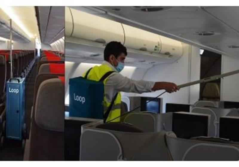 Iberia aplica nuevas soluciones sostenibles en la limpieza e higienización de sus aviones