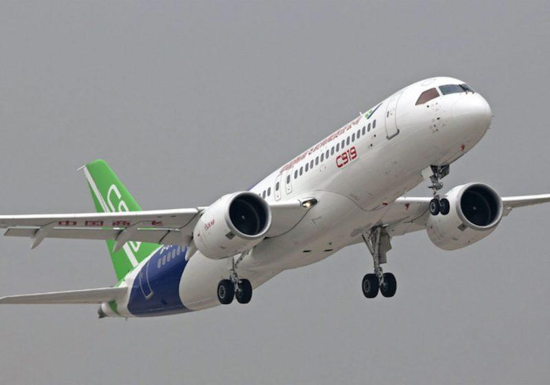 El COMAC 919 competirá con Boeing y Airbus
