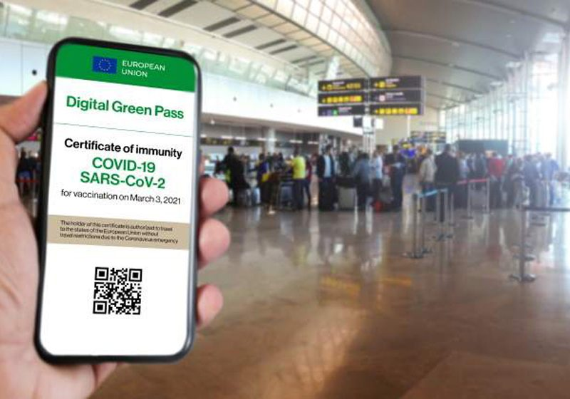 Así será el pasaporte covid o Certificado Verde Digital que llegará a Europa en junio